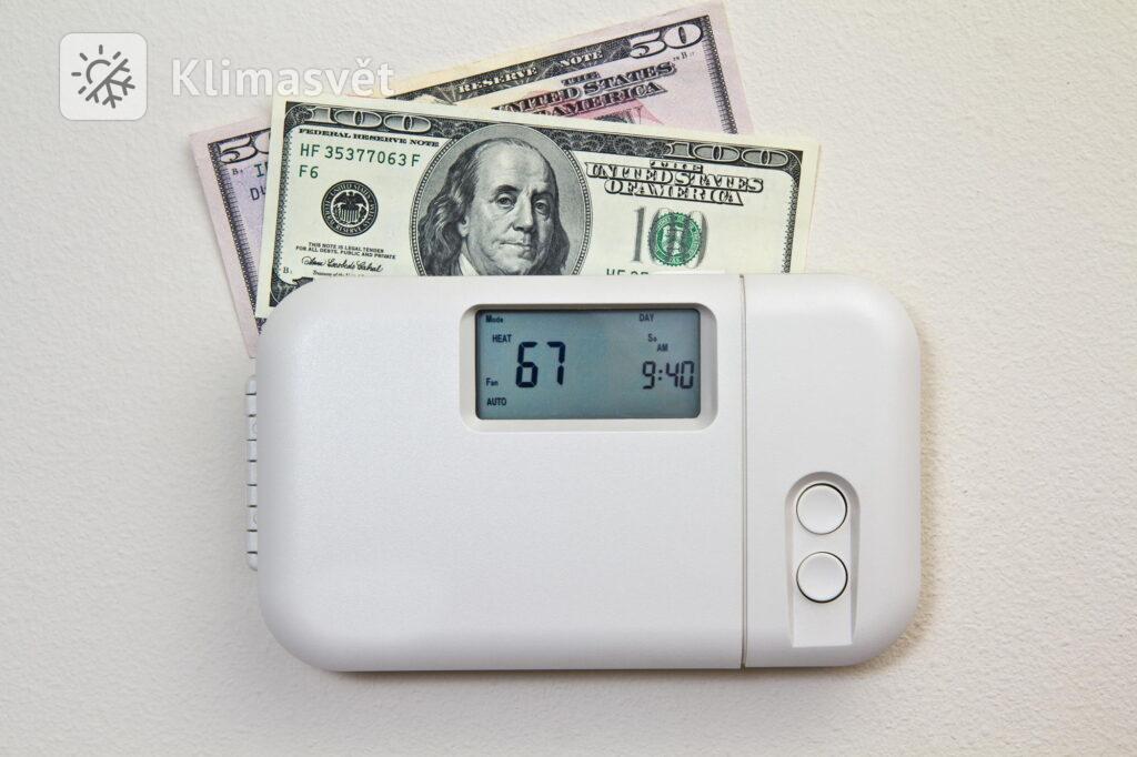 Úsporné topení pomocí klimatizace