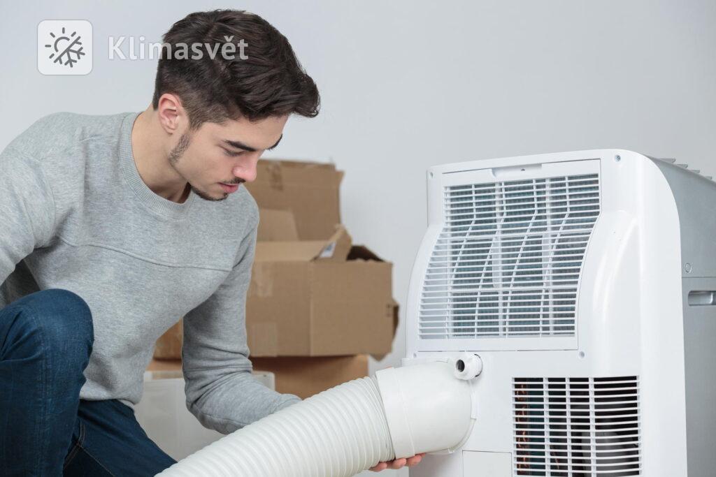 Servis mobilní klimatizace 3