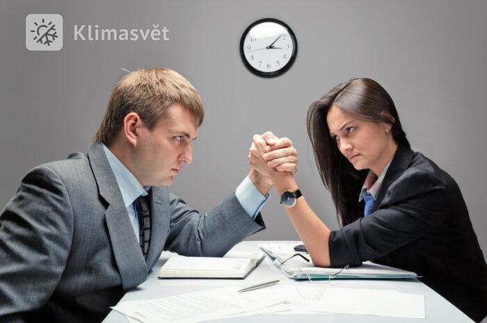Muži versus ženy: Proč se neshodnou na teplotě v místnosti?