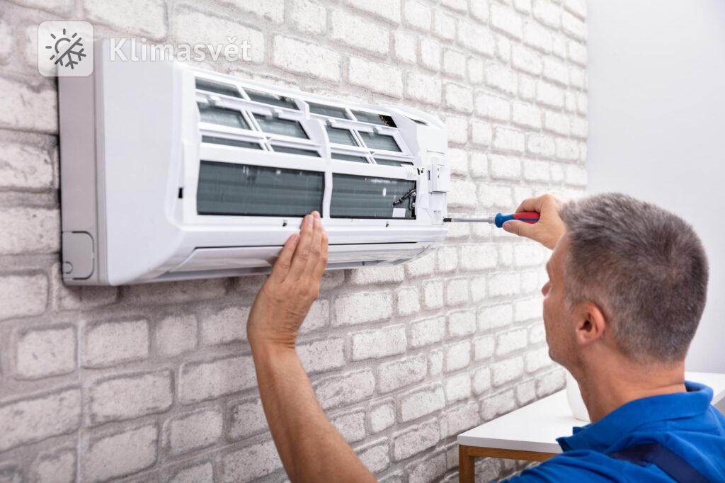 Nástěnné klimatizace mají nízkou spotřebu a pro její montáž nejsou zapotřebí žádné složité stavební úpravy.